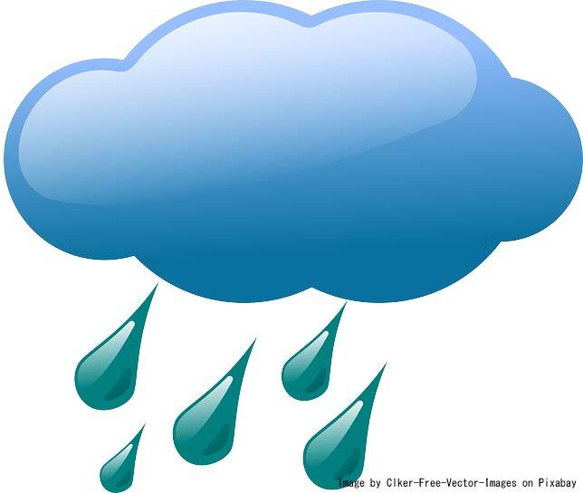 ゴルファーの敵、、雨その①